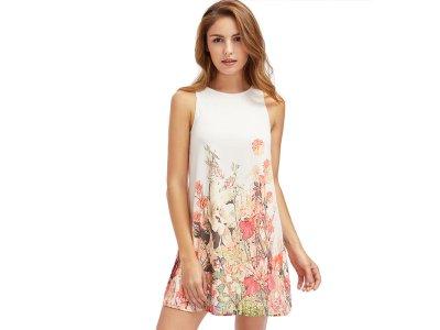 Romantické šaty v pastelových barvách